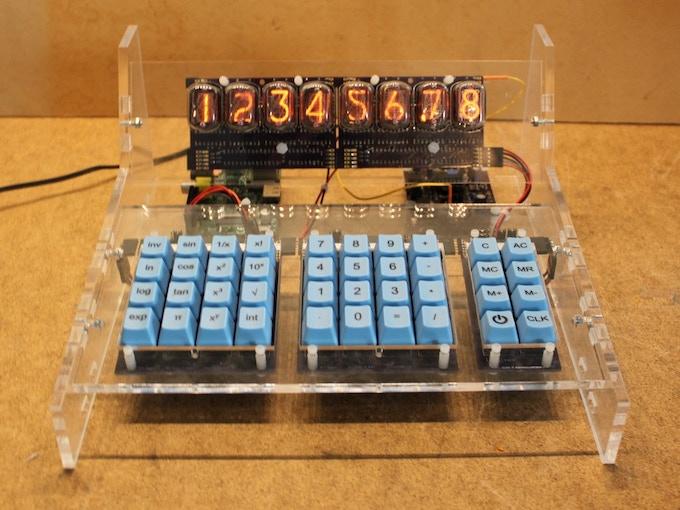 Assembled Calculator