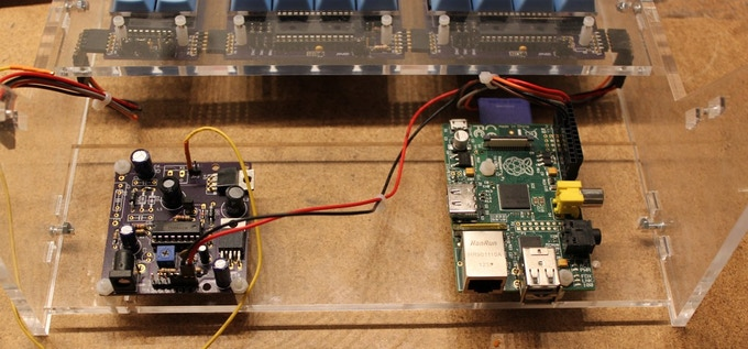 Power Supply Board and Raspberry Pi