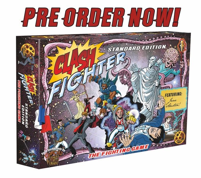 Click here to learn more about purchasing Clash Fighter!