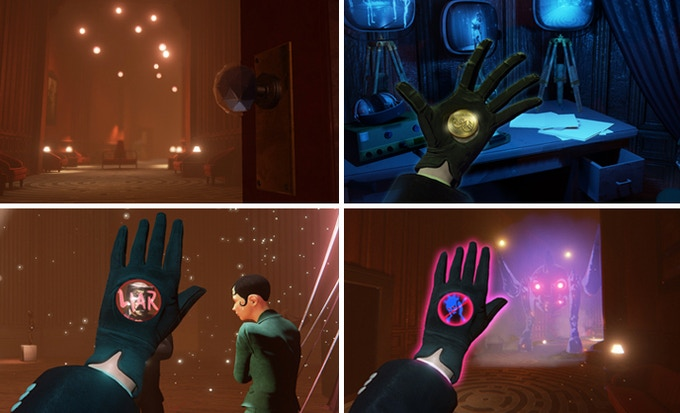 Reveals secrets, uncover hidden motivations, and dispel fears with The Black Glove.