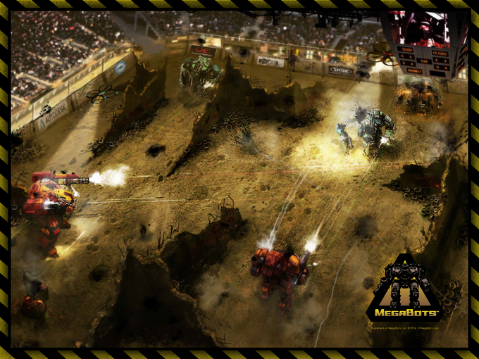 A New Sports League: Giant Robot Combat