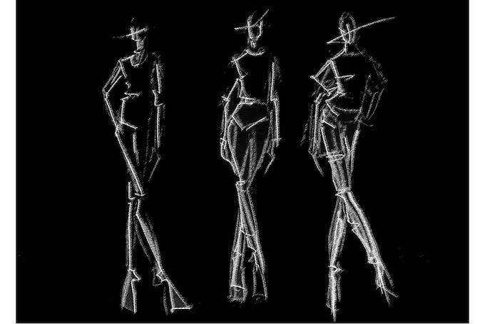 Fashion Sketch A