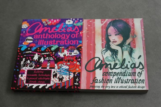 Amelia's Anthology of Illustration and Amelia's Compendium of Fashion Illustration