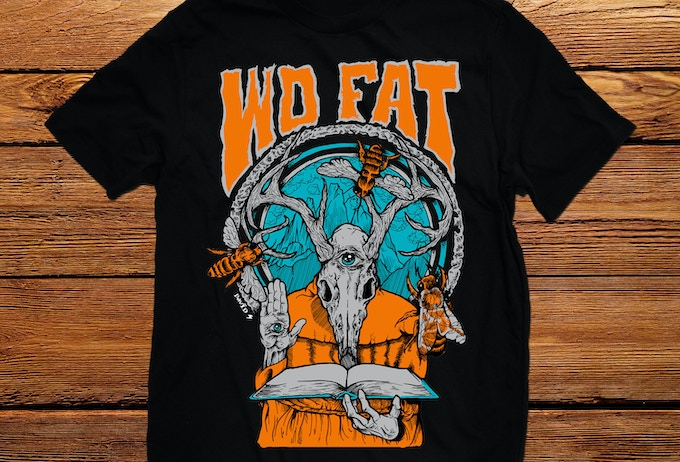 David Paul Seymour Wo Fat Shirt.
