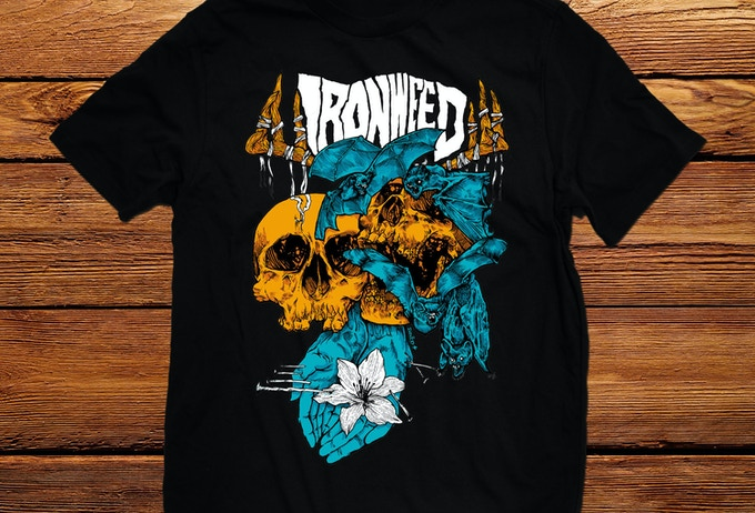 David Paul Seymour Ironweed Shirt.