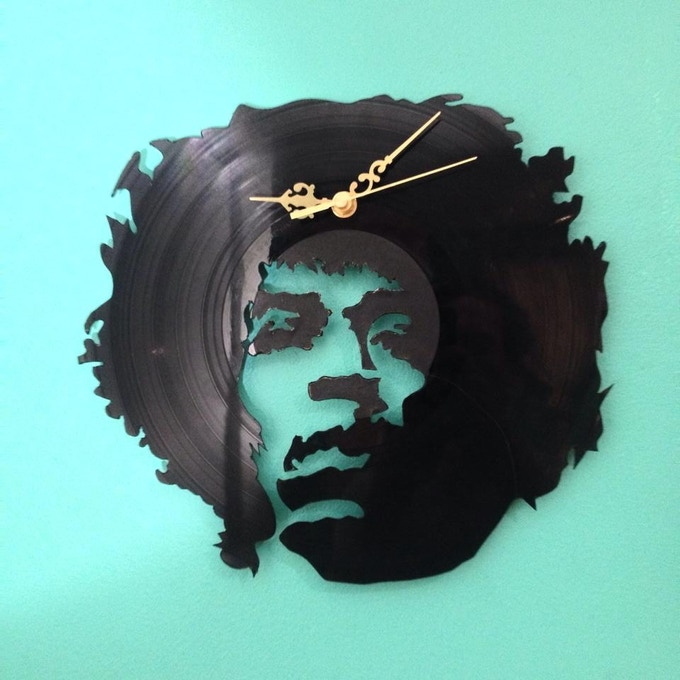 Chris Fox Hendrix Clock