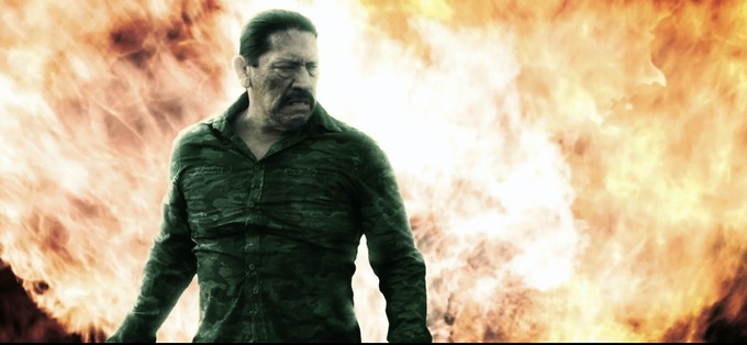 DANNY TREJO as you've never seen him before.