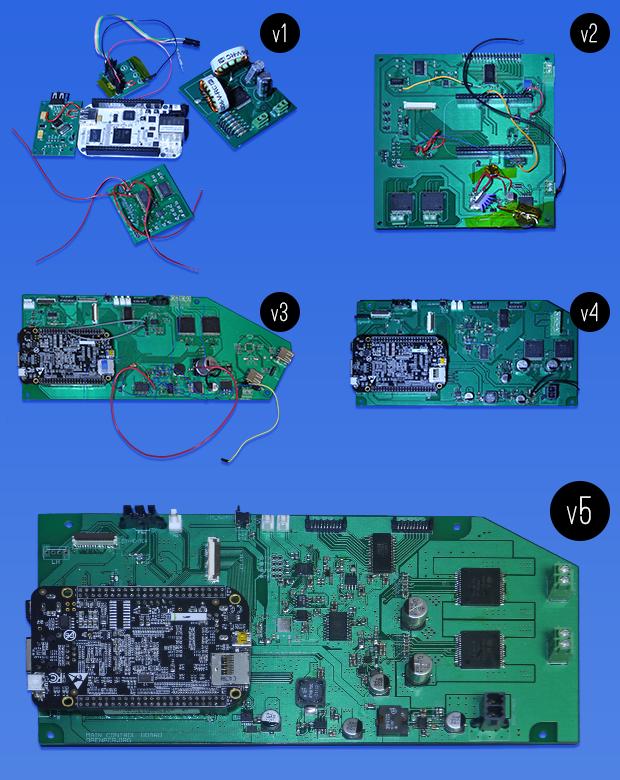 Progression of Open qPCR's circuit board