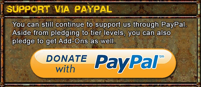 Click on the image to pledge via PayPal