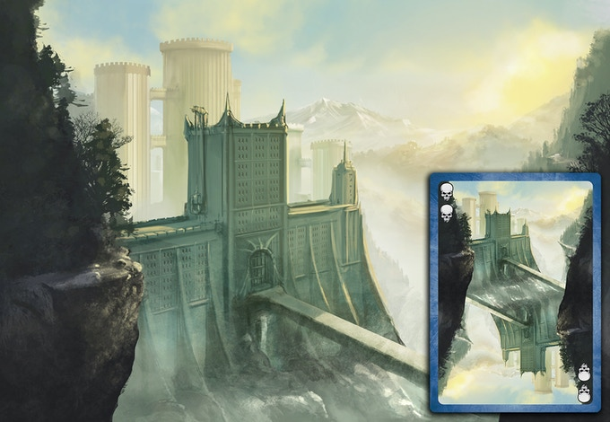 Castle Themed Deck - Guard Tower Card