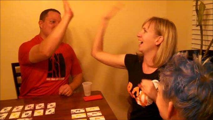 High Five, She Just won!