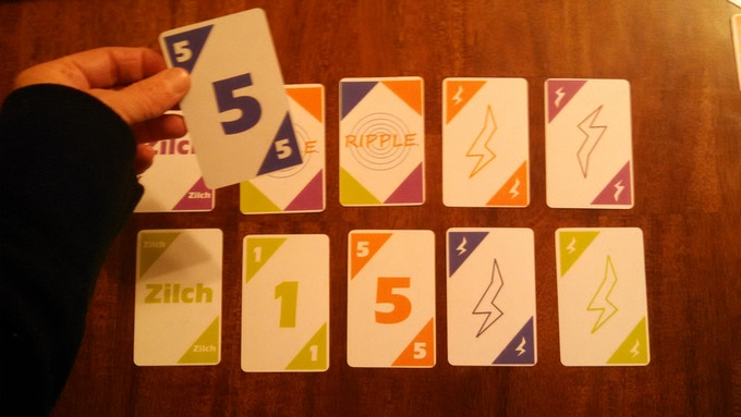 Rippling the 5 to match the other five!  Lots of rules why!  We'll explain it all!