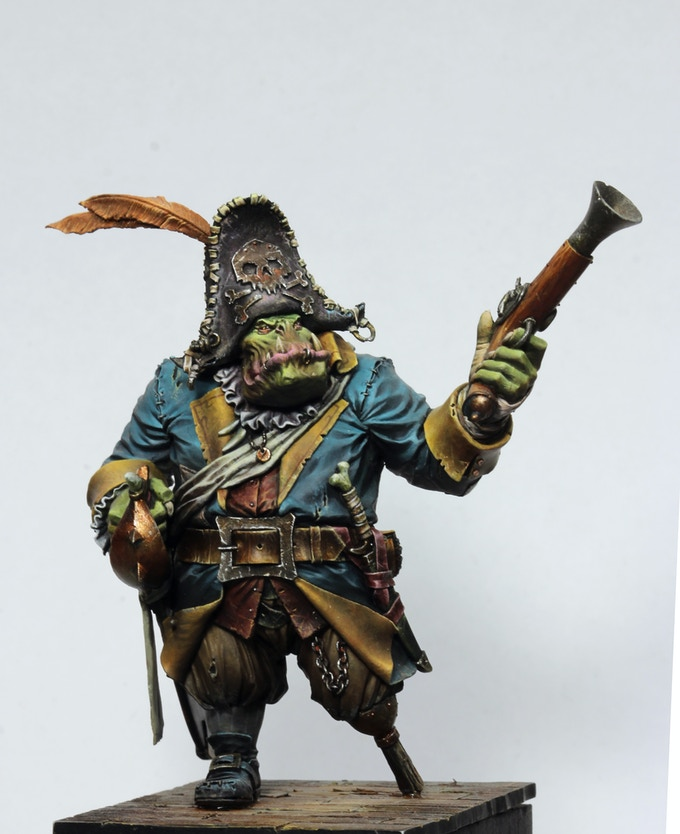 Black Sailors- Pirates, Orcs, Fantasy Miniatures! by Legion