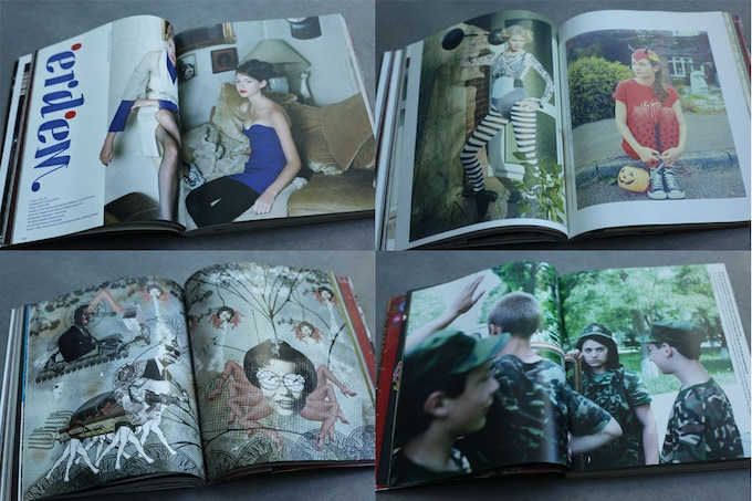 Sample pages from issue 8 of Amelia's Magazine