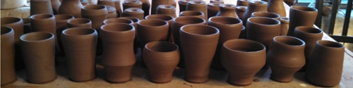 """Our first collaboration between Holyoke Community College and The Museum of Fine Arts  """"Decorate a cup get a cup"""""""