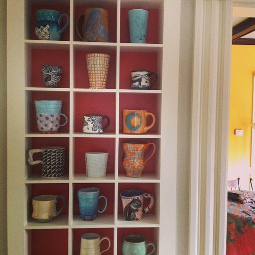 Handmade pots add so much to our daily lives