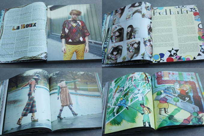 Sample pages from issue 10 of Amelia's Magazine