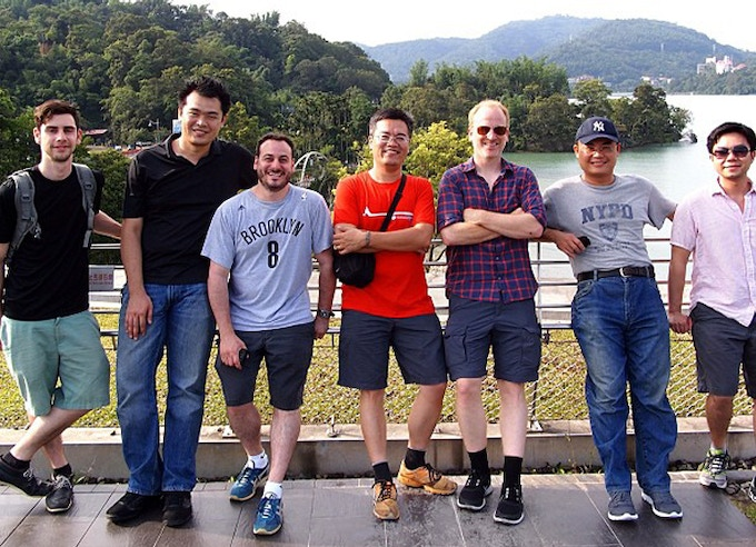 We have made many trips to Taiwan over the years and have learned tons about manufacturing. This is team Modko with our good friend and manufacturing partner Jim and his team.
