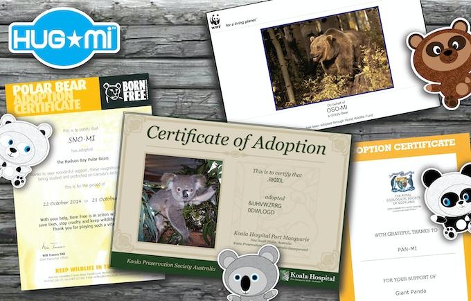 Hug-mi™ Adoption Programme