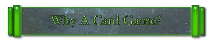How did you decide on a card game?