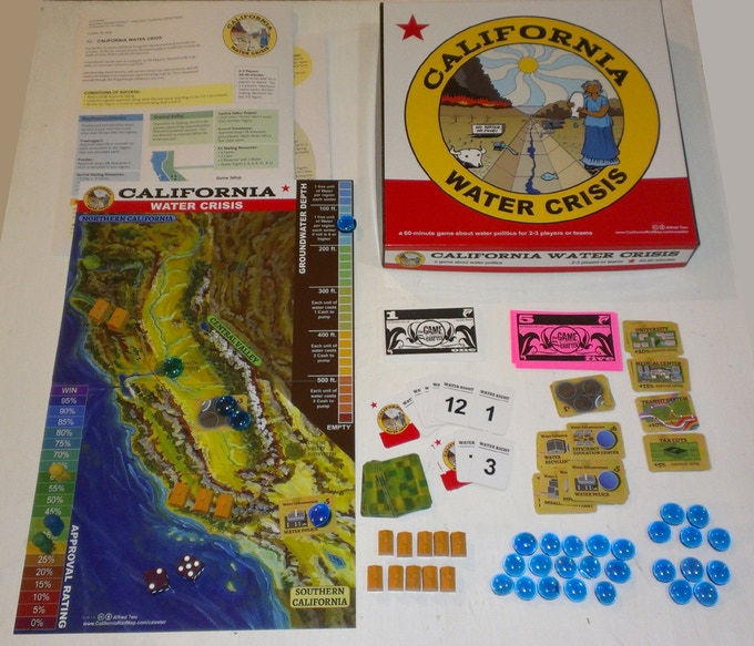 California Water Crisis game contents