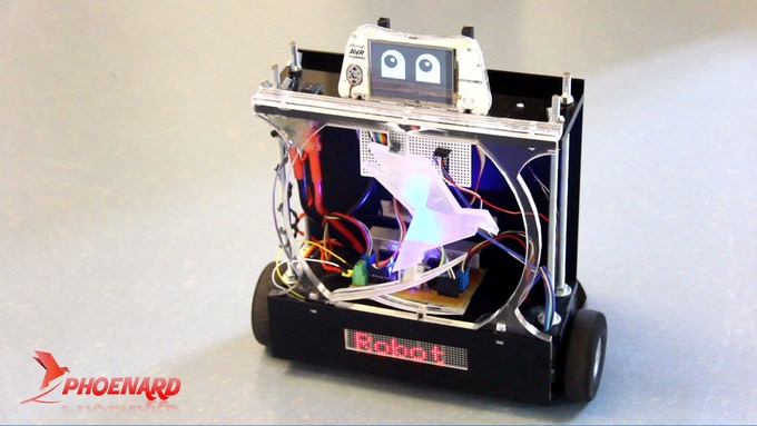 Control your Robot with Phoenard