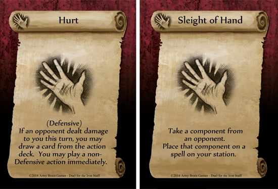 74 Action cards