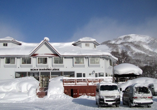 Black Diamond lodge is located near the small town of Niseko-cho