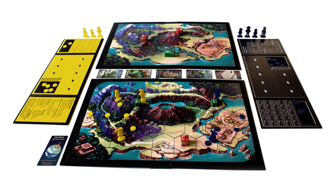 In a World of Dinosaurs - A board game you'll totally dig by