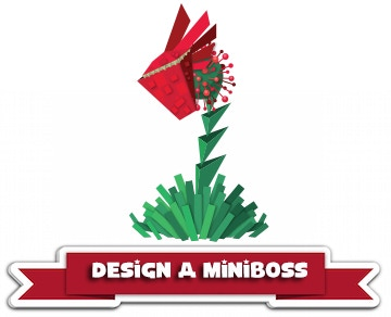 Reward 13: You can design an miniboss and its attacks with the help of the design team.