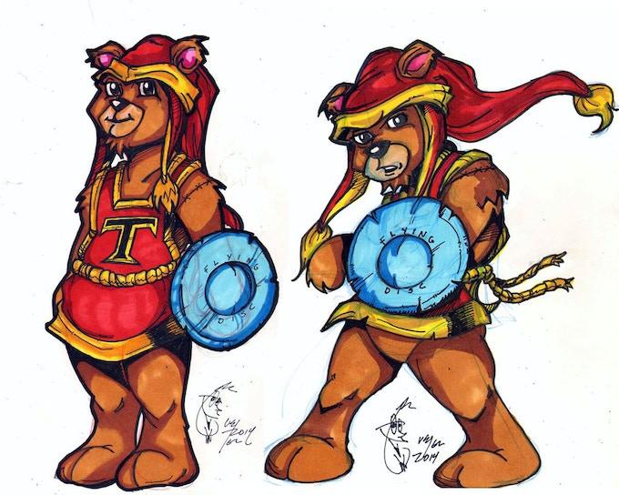 Tristan the Teddy Bear Concepts by Keir Knikia Lyles
