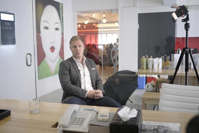 Simon Squibb: Founder of Nest and Fluid creative.