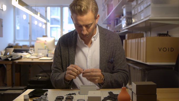 David Ericssion: Founder and designer of Void Watches.