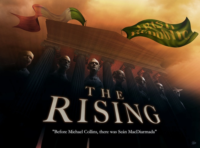 Test movie poster for The Rising