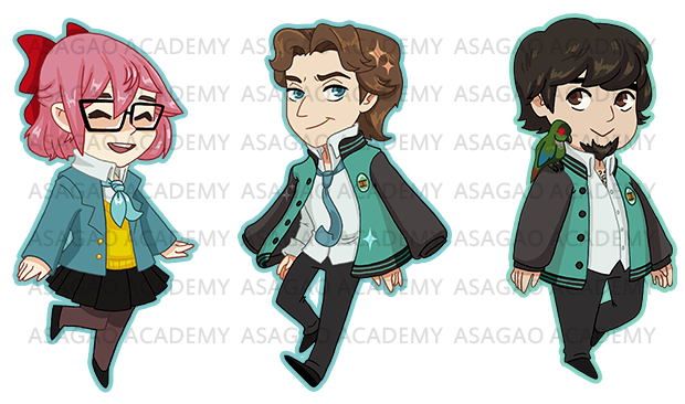 Projected keychain designs