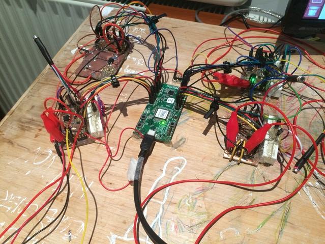 Still testing the NeuroOn batteries on our old testing circuit, though next week we are getting a new one