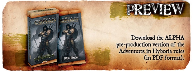 """The PDF preview of the """"Alpha"""" version of the rulebook can be downloaded here."""