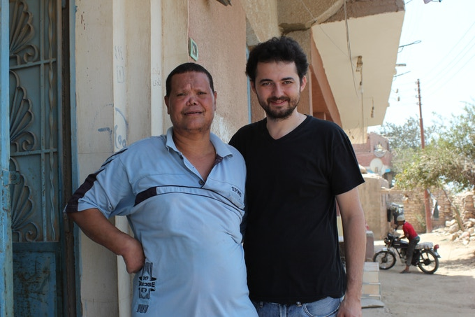 Yomeddine writer/director Shawky at the Leper Colony