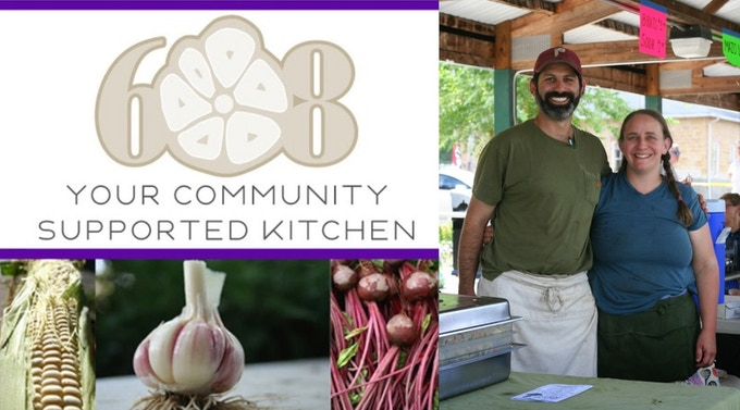 With a $300 pledge, enjoy a farm-to-table style meal delivery service in the Madison area. See the 608CSK blog for menus.