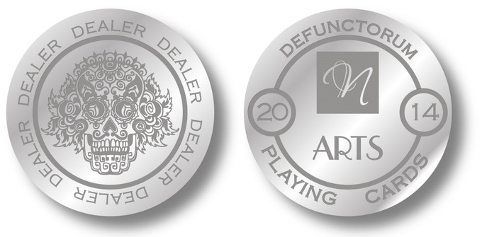 DIES Dealer Coin. D=40mm