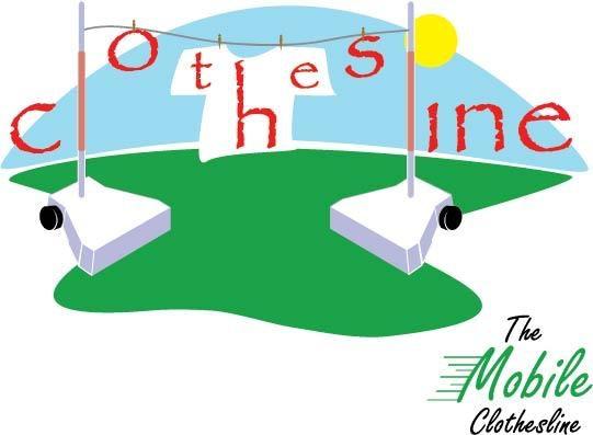Cool Mobile Clothesline Logo.
