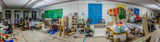 The Arts Build Room for the Peoples Climate March (Aug-Sept.)