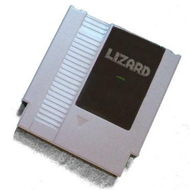 An example cartridge, the cartridge art has not been finalized.
