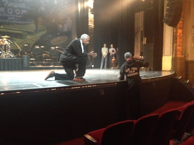 Chester and Ron at Apollo Theater