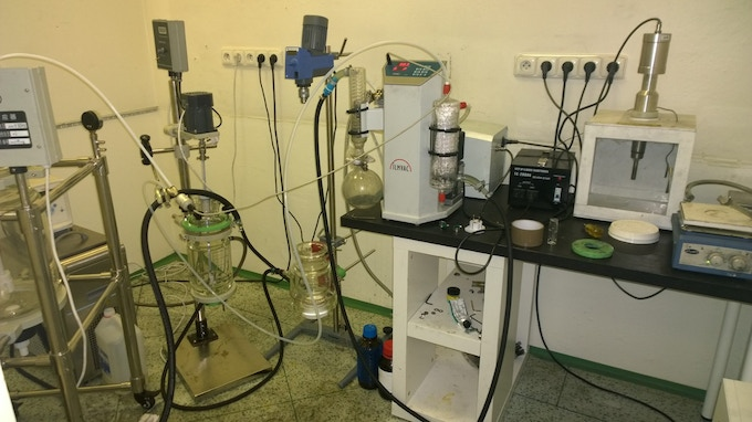"Mike's ""Frankenstein Lab"" from the Early Days"