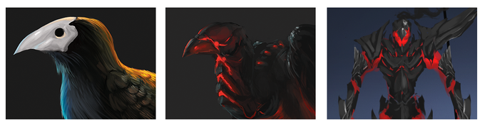 Crows, Carrions, and Reavers are all vicious obstacles on your journey.