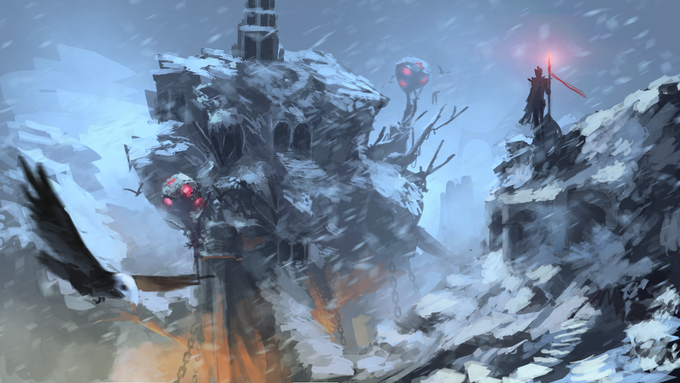 Explore ruined wastes and frigid decay as you try to restore the world to life.