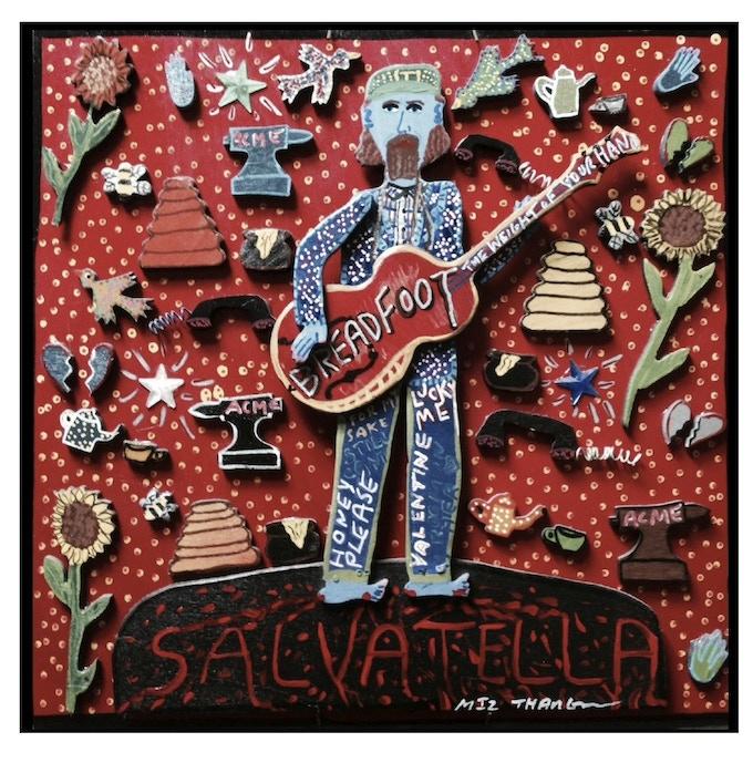 Salvatella Album Art by Outsider Artist Miz Thang