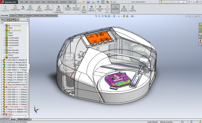 Catzenpup 3-D CAD Engineering Model Screenshot