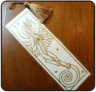 The bookmark!